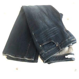 Torrid Dark Wash Straight Leg Jeans Size 18